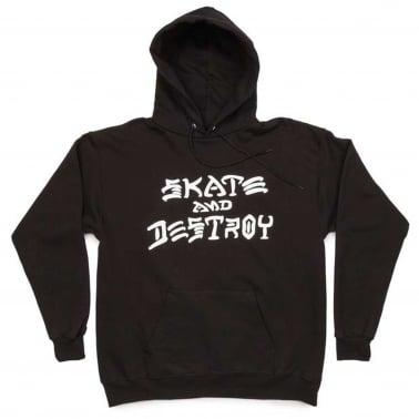 Skate & Destroy Hoodie - Black
