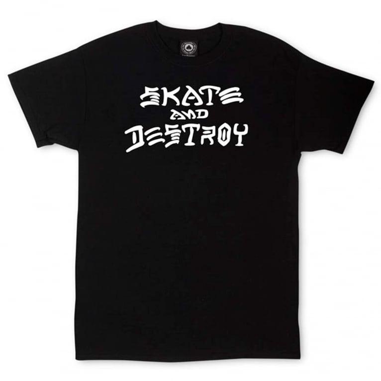 Thrasher Skate & Destroy T-Shirt - Black