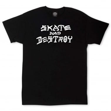 Skate & Destroy T-Shirt - Black
