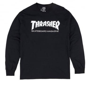 Skate Magazine Long Sleeve T-shirt - Black