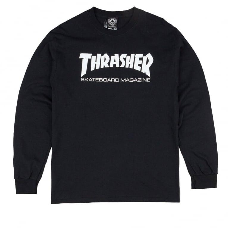 Thrasher Skate Magazine Long Sleeve T-Shirt