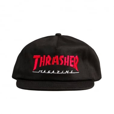 Two Tone Magazine Cap - Black