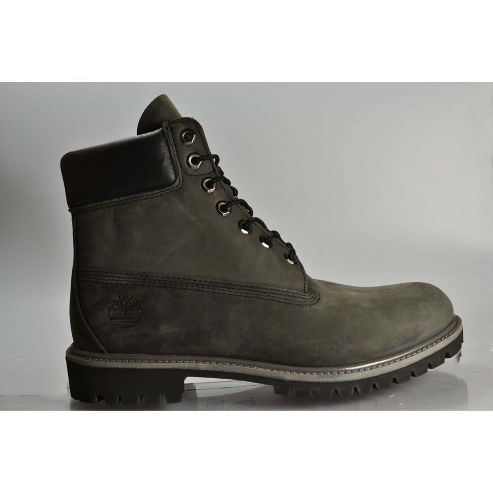 timberland premium 6 boot grey nubuck grey