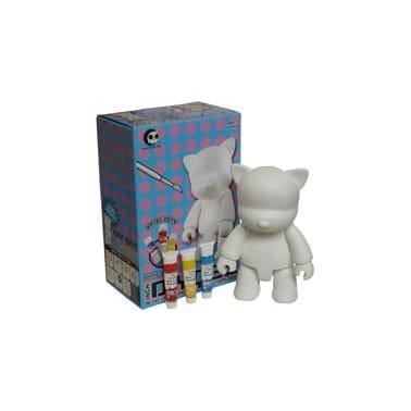 Toys Diy Cat Qee White