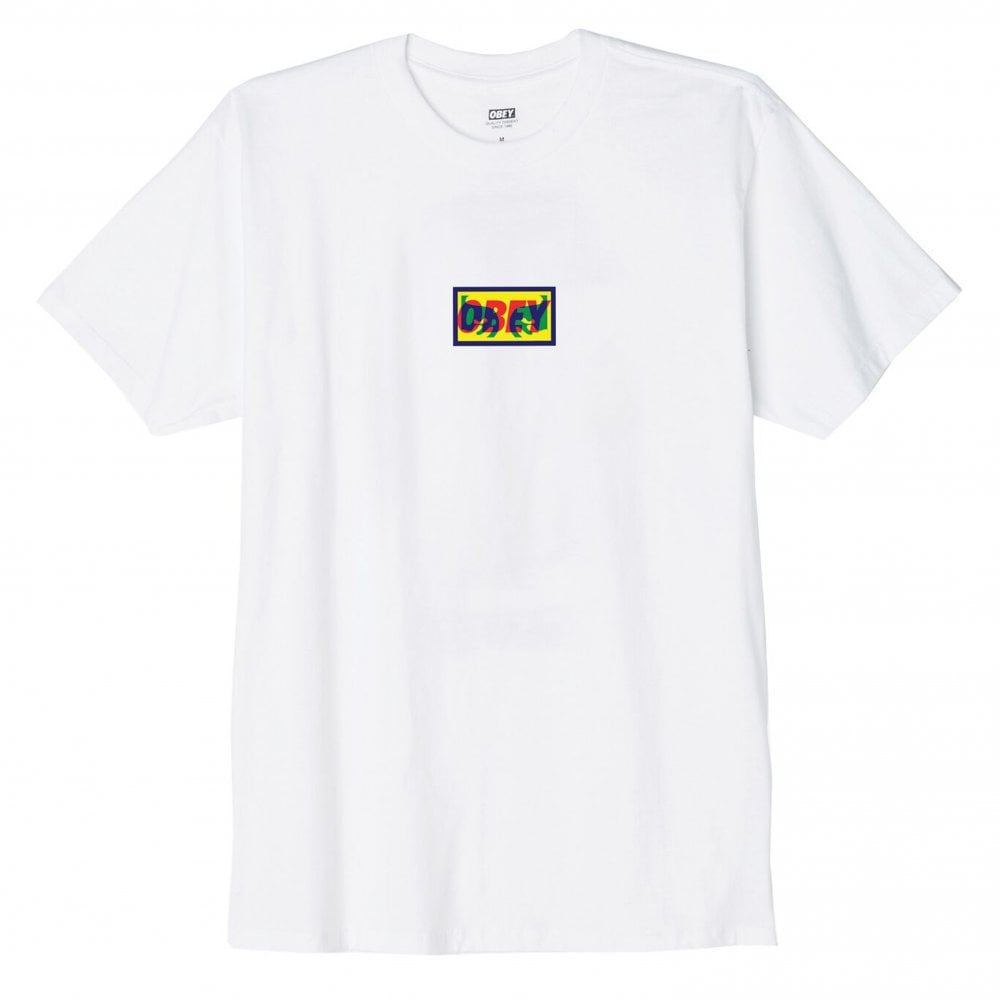 hot-selling official outlet sale no sale tax Obey Transparent Obey T-Shirt - White