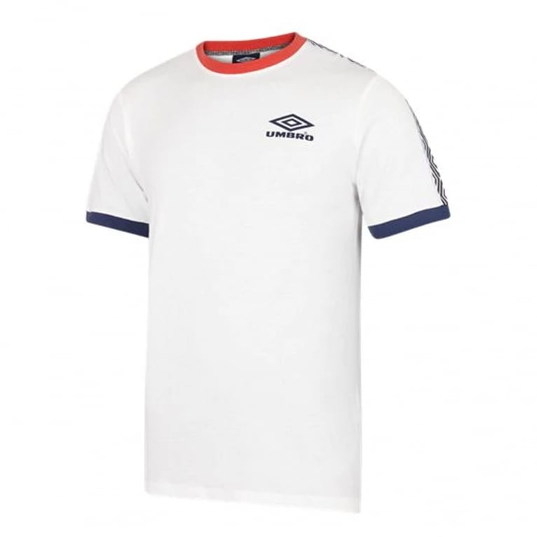 Umbro Ringer Taped T-Shirt