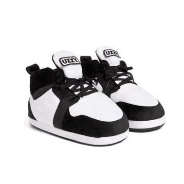 4e771548a Airjam 14 (aka Air Jordan 1) - White Black New In. Uzzy Slippers ...