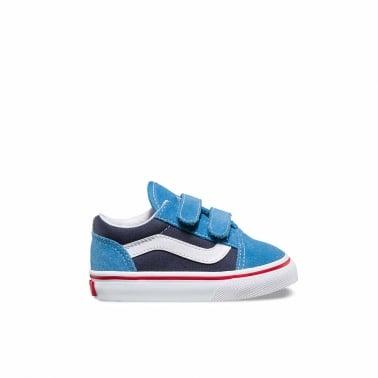 2 Tone Old SKool Toddler - Cendre Blue