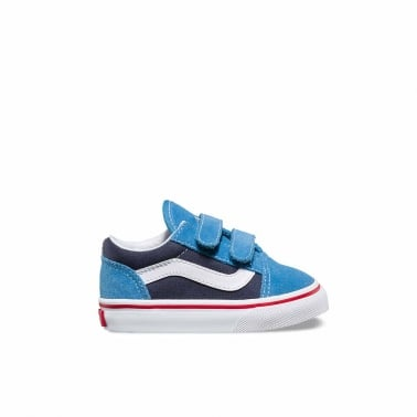 2 Tone Old Skool Toddler - Cendre Blue
