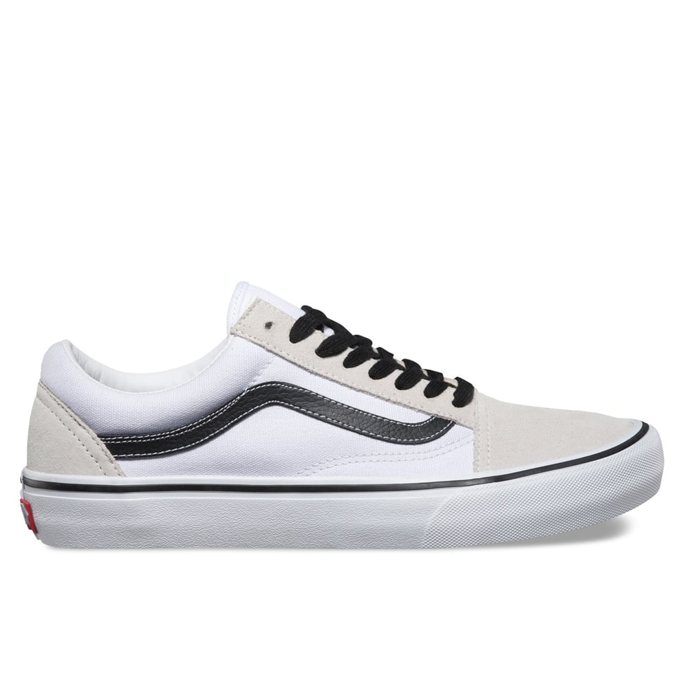 c165268593e147 50th Anniversary    Old Skool Pro 92 - White Black