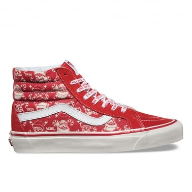 50th Anniversary // SK8-Hi Pirate Santa - Red