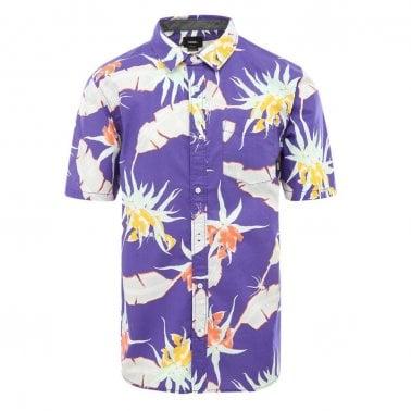22e8e03f8a8 Arachnoglore Short Sleeve Shirt - Purple New In