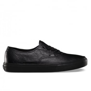Authentic Leather - Black/Black