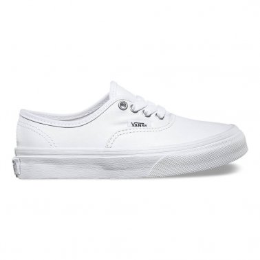 Authentic Leather Kids - True White