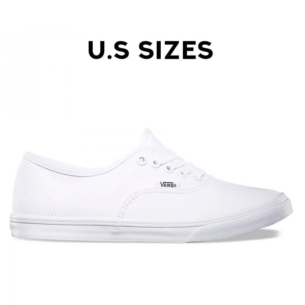 Vans Authentic Lo Pro - White/White (Women's Sizes)