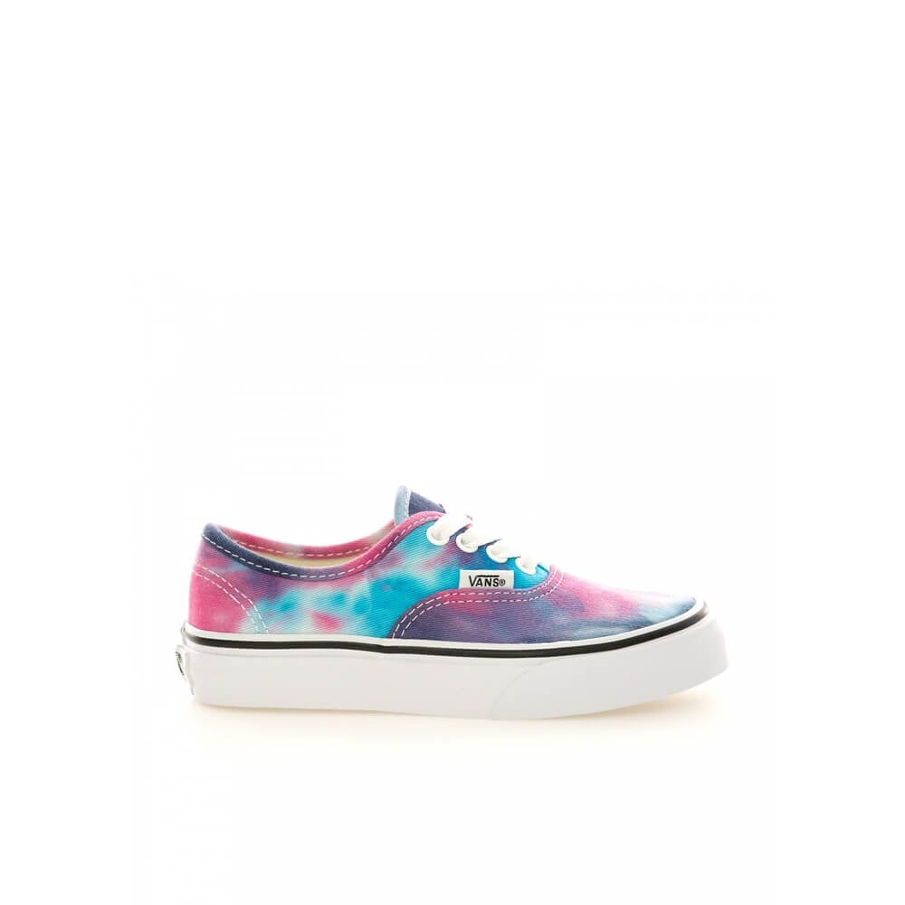 9ff7fb4a500e Vans Authentic Tie Dye Kids Pink Blue