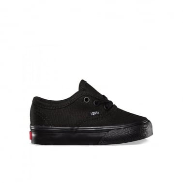 Authentic Toddlers Black/Black