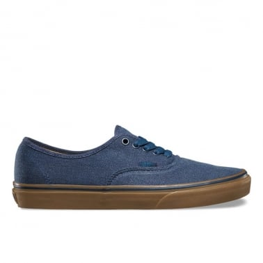 Authentic Washed Canvas  - Dress Blues/Gum