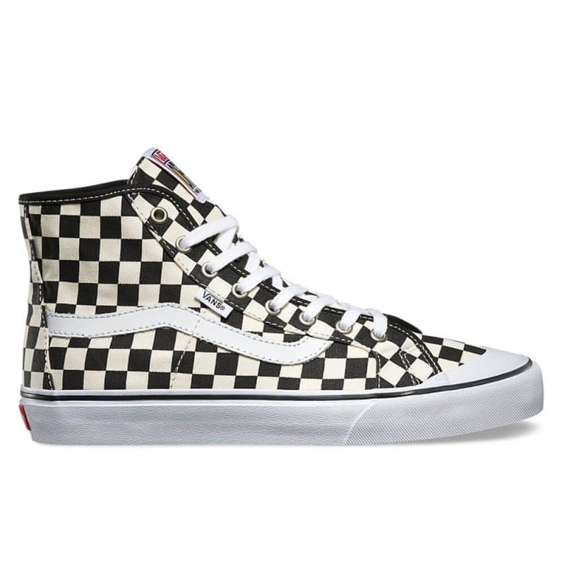 ecfd48390e39d5 Buy VANS Black Ball Hi SF in Checkerboard Black White