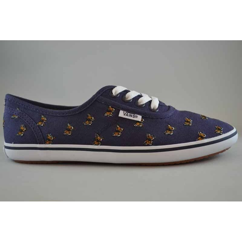 cec0ed58db53ed Vans Cedar Butterfly Navy orange