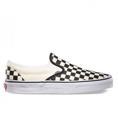 Checkerboard Slip-on - Black/White