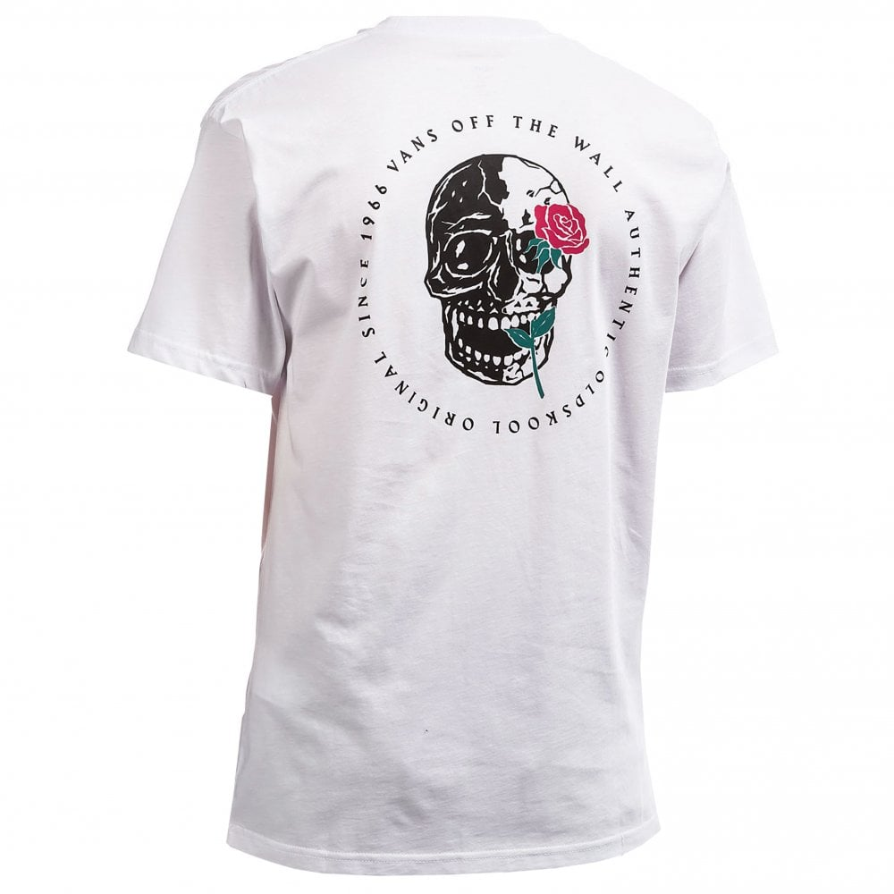 15b13f60e Vans Coming Up Roses T-Shirt | Clothing | Natterjacks