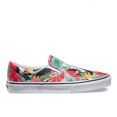 Digi Aloha Slip-on - Indigo Tropical Black