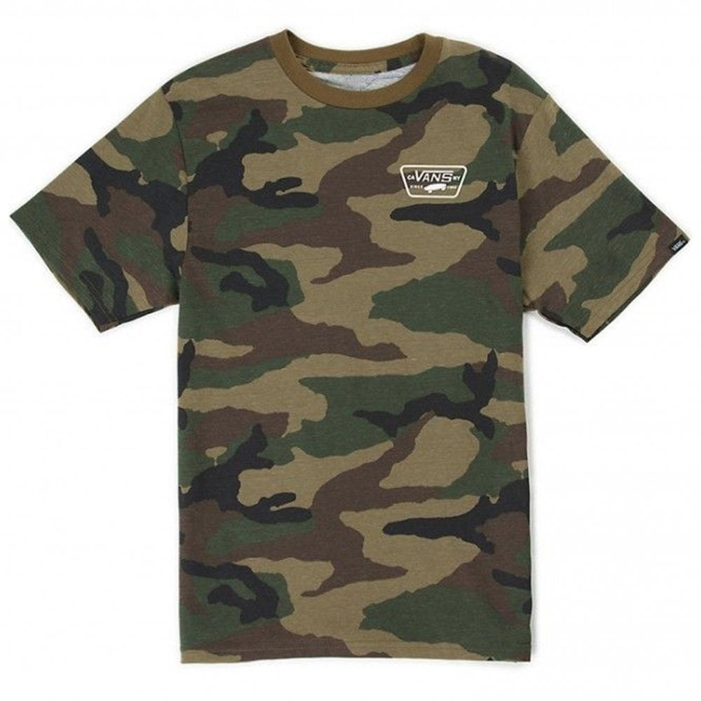 d1ef9fb8be Full Patch Back T-Shirt - Camo White