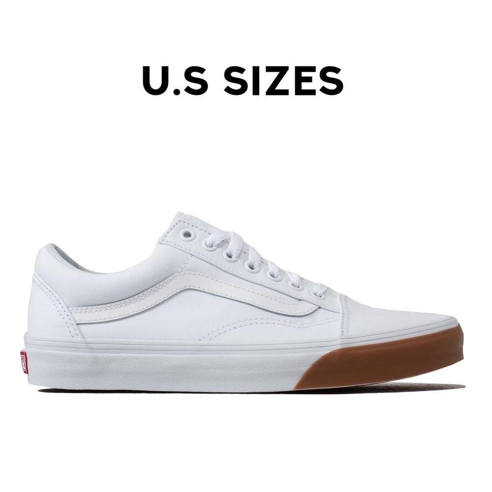 Vans Old Skool Gum Bumper - True White