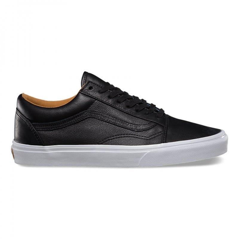 Vans Old Skool Leather Black | Natterjacks