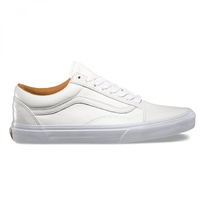 Vans Old Skool Leather True White