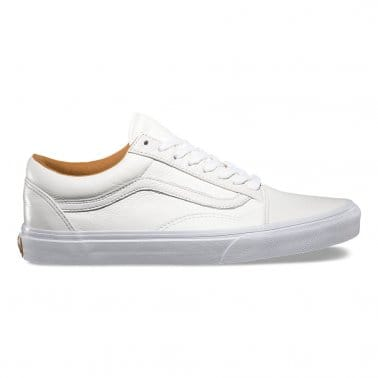 Old Skool Leather True White