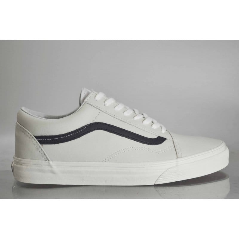 Vans Old Skool Leather White/Blue