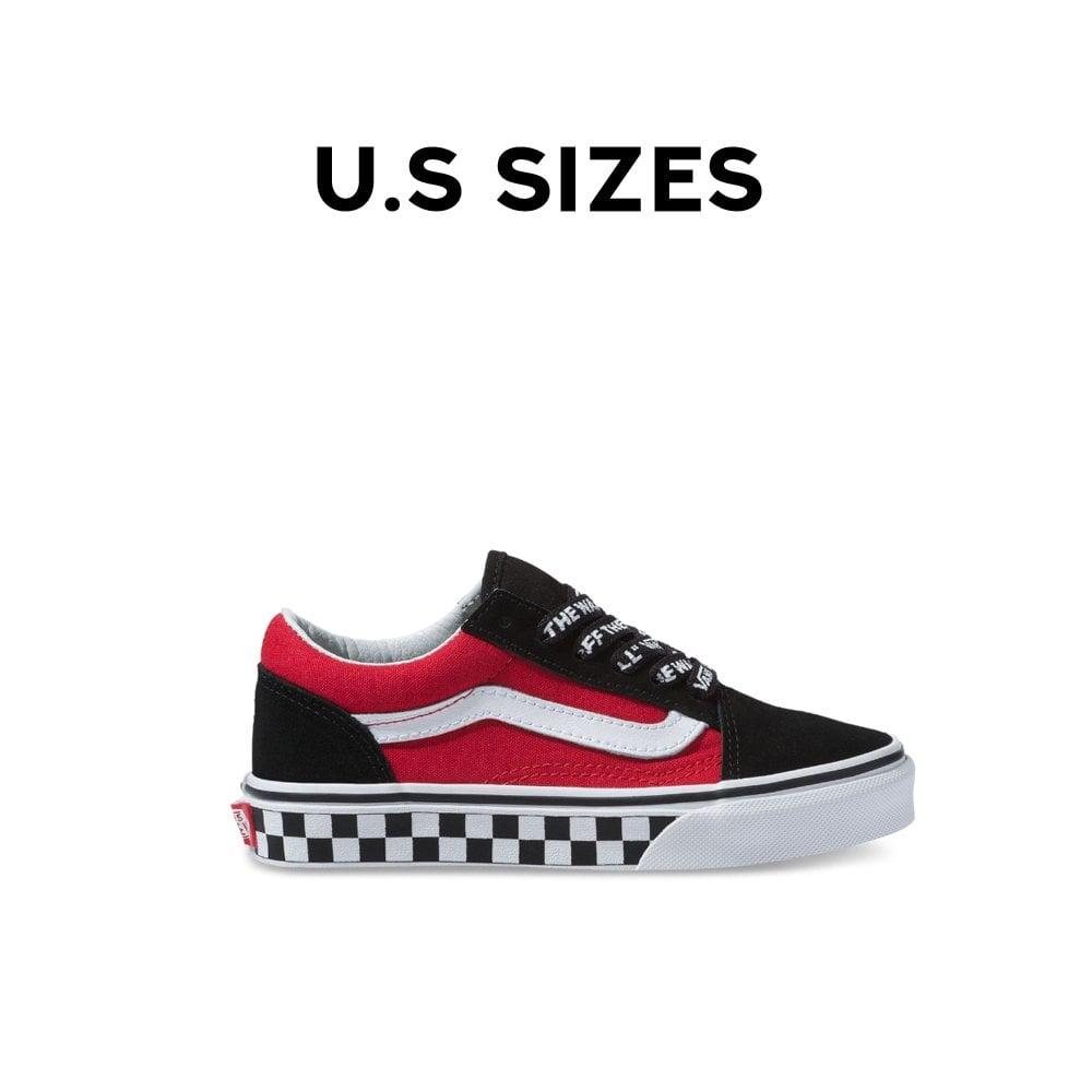 Vans Old Skool Logo Pop Kids | Footwear