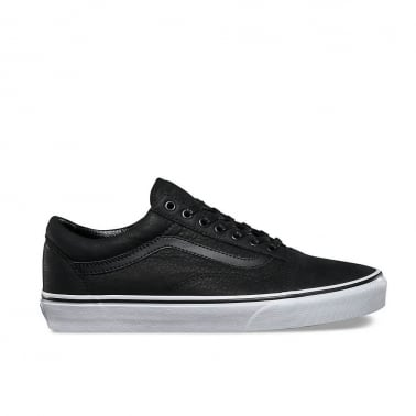 Old Skool Premium Leather - Black/White