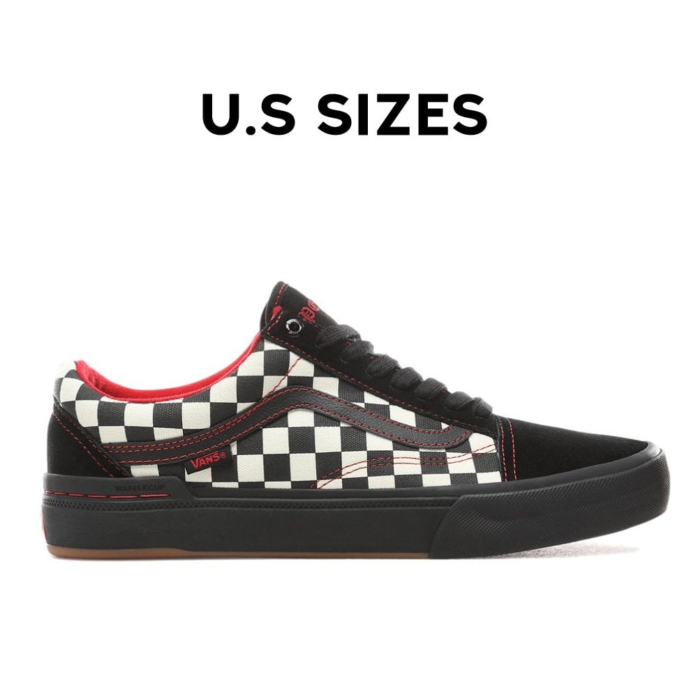 store high quality best prices Vans Old Skool Pro BMX - Black/Checkerboard