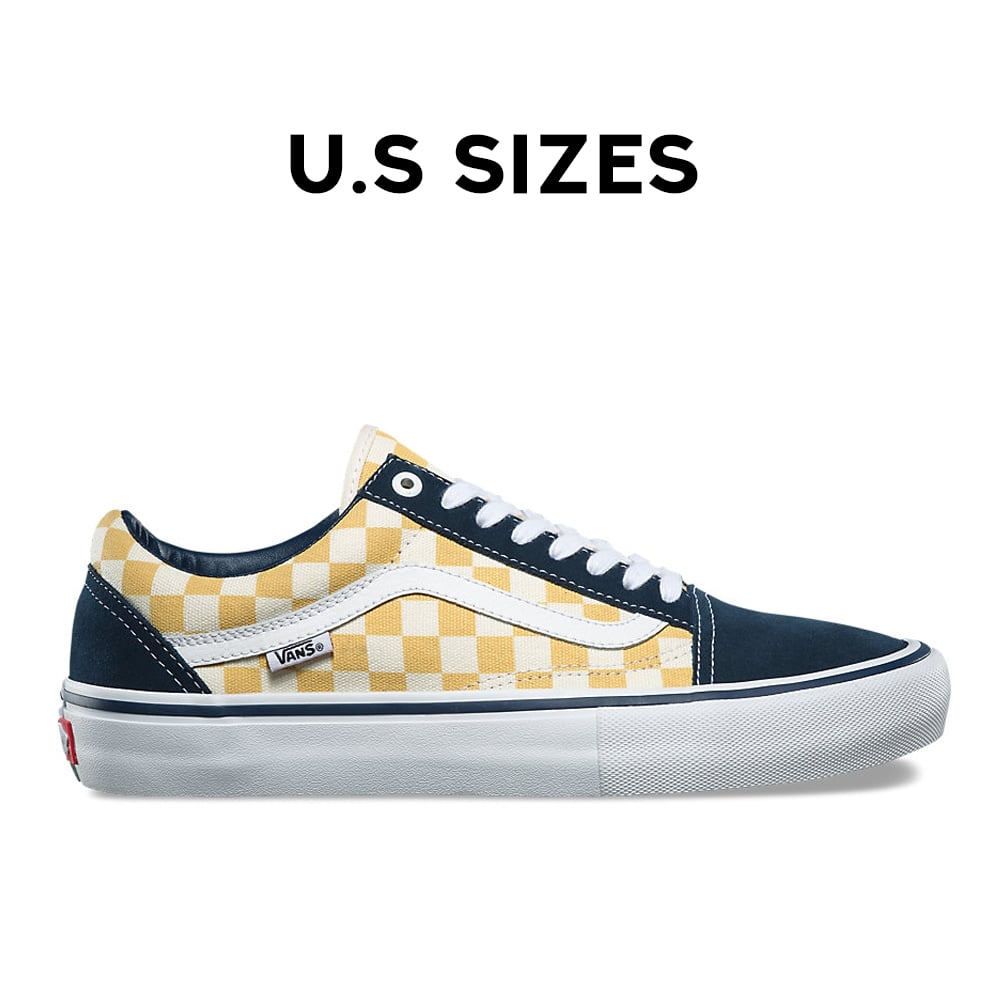 0c0b1d9d6016 Old Skool Pro Checkerboard - Dress Blue