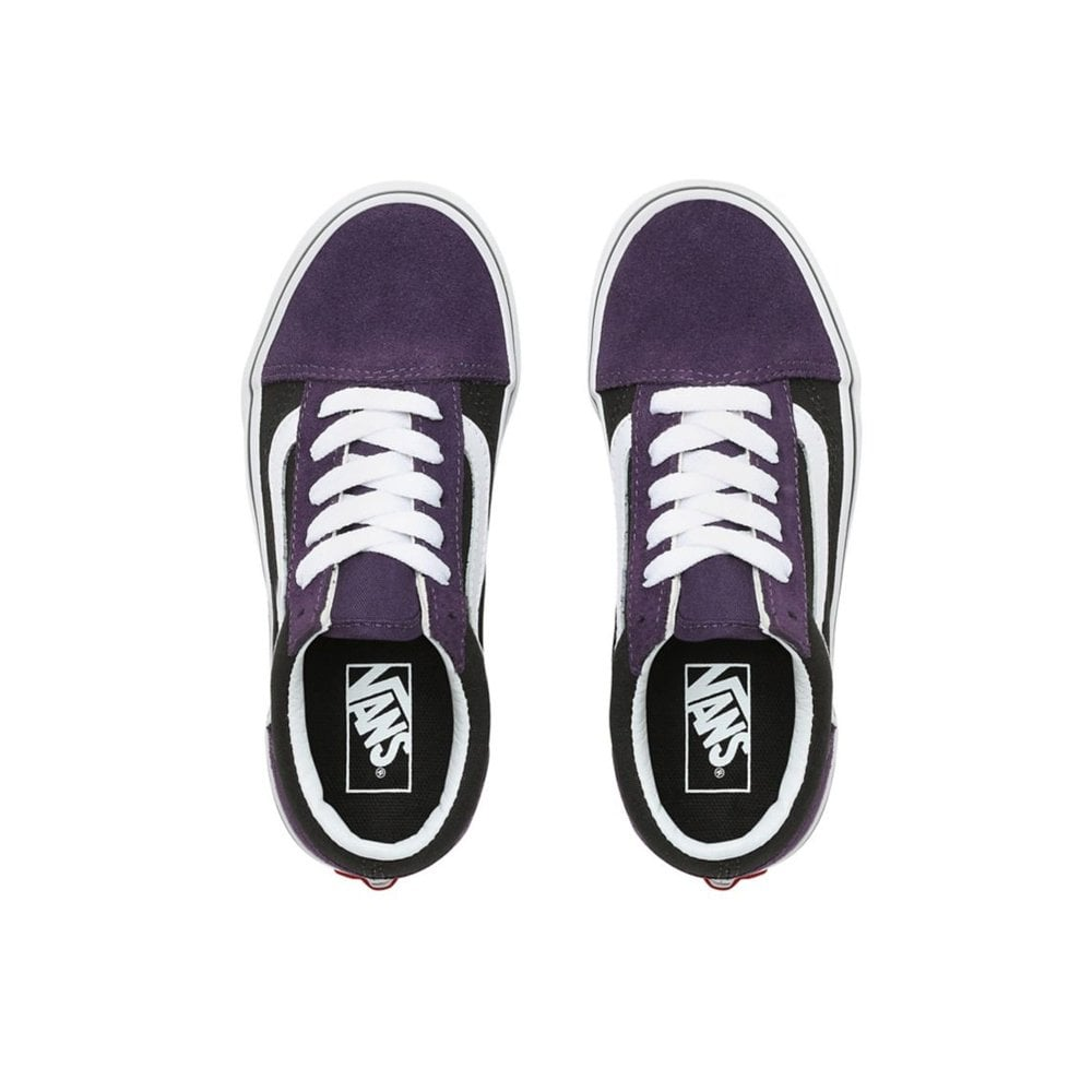 90e94bfa Old Skool Suede Kids - Mysterioso/Black