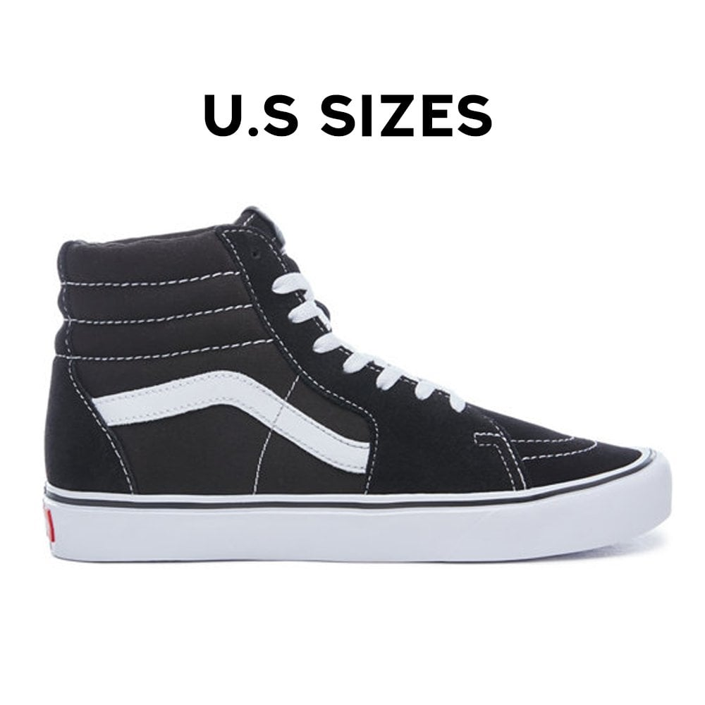 033e55391fe1a Sk8-Hi Comfy Cush - Black/White