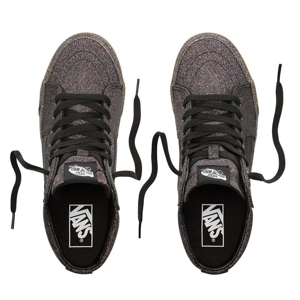 Vans Sk8-Hi Rainbow Glitter   Footwear