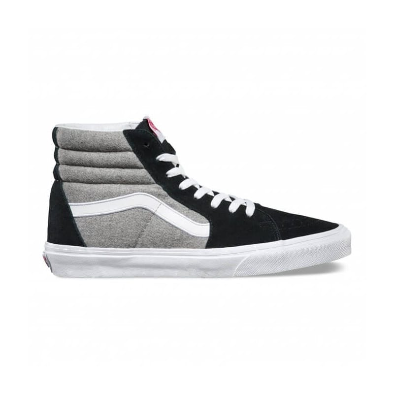 Vans Sk8-Hi Wool - Black/Grey