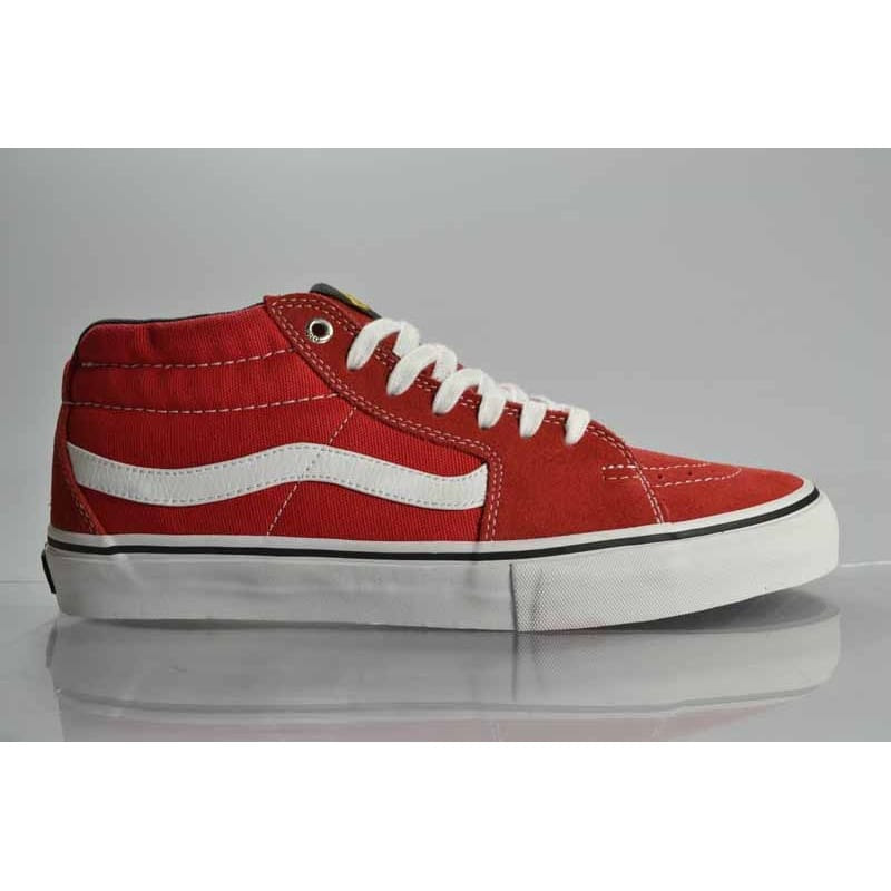 32dc90e0bf Vans Sk8 Mid Pro Bl Red
