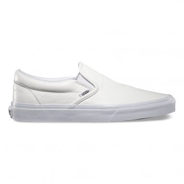 Slip-on Leather White/mono