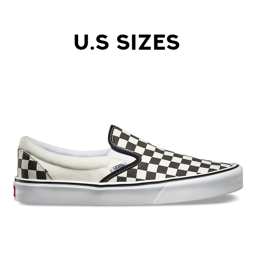 vans slip on checkerboard lite