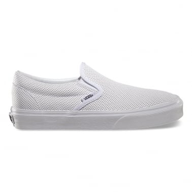 Slip-On Perforated Leather