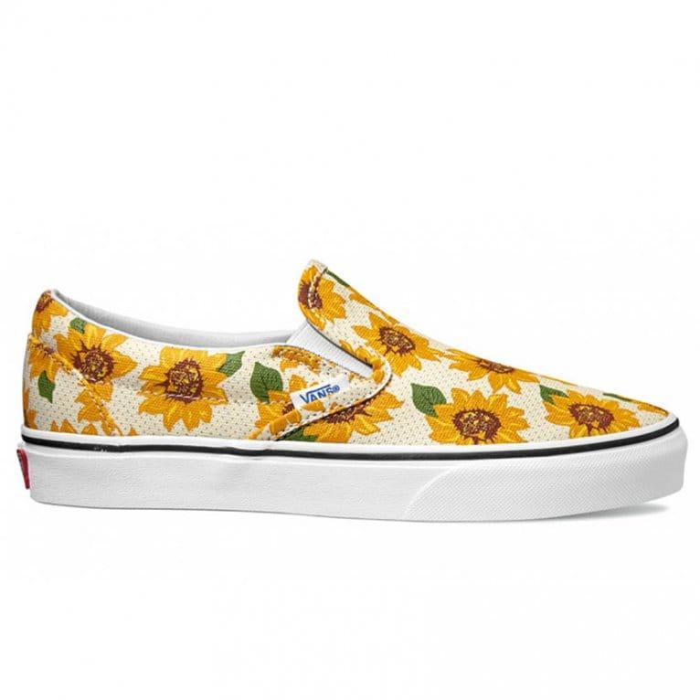 Vans Slip On Sunflower True White Natterjacks