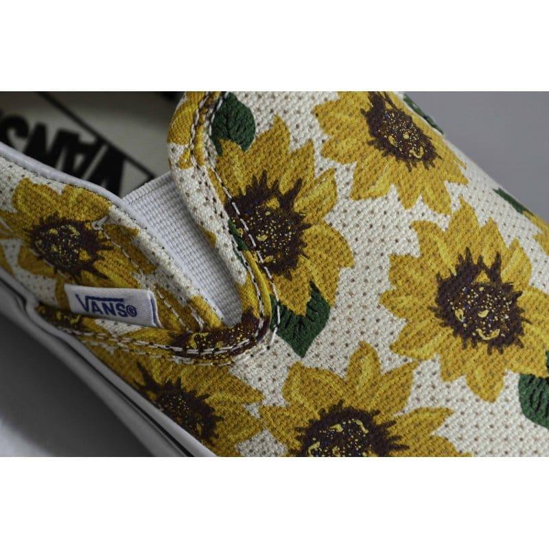 247c3b73ec7 Vans Slip-on Sunflower True White