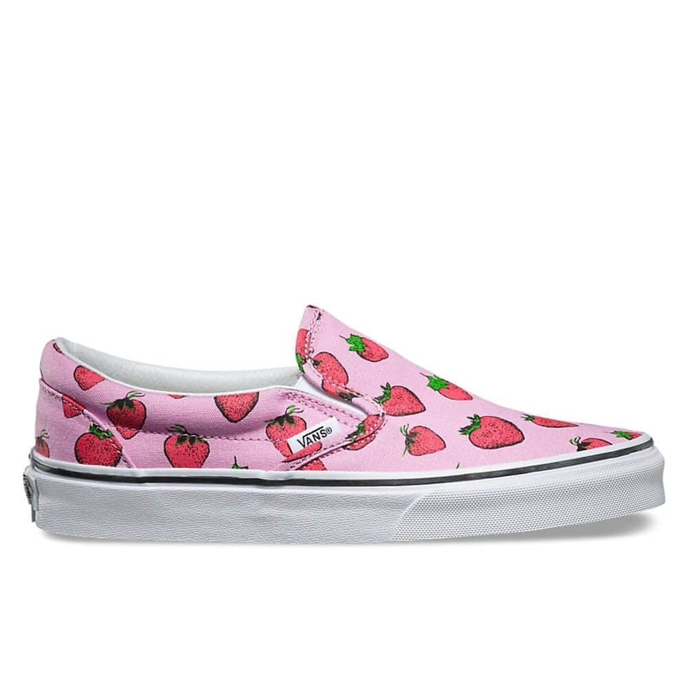 33e5aa4f3dc Buy VANS Strawberries Slip-On Lavender/True White | Natterjacks