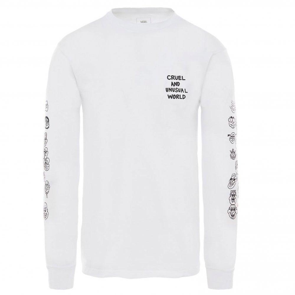62449d7d134972 Vans Cult Long Sleeve T-Shirt | Clothing | Natterjacks