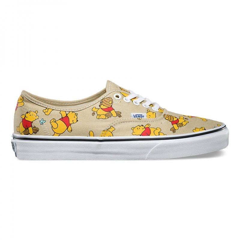 Vans x Disney Authentic Winnie Pooh  10c9f6934